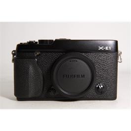 Used Fujifilm X-E1 Body Black Thumbnail Image 0