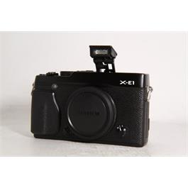 Used Fujifilm X-E1 Body Black Thumbnail Image 6