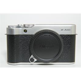 Fujifilm Used Fuji X-A10 Body Silver thumbnail