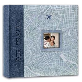 Swains Map Our Travel Blue 200 4x6 Album thumbnail