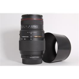 Used Sigma 70-300mm f/4-5.6 DG (Pentax) thumbnail