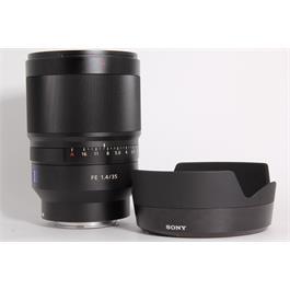 Used Sony 35mm f1.4 Distagon T* ZA Thumbnail Image 0