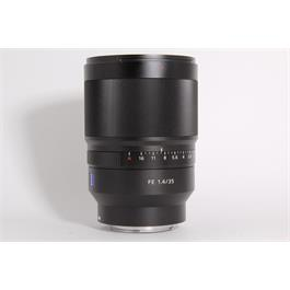 Used Sony 35mm f1.4 Distagon T* ZA Thumbnail Image 1