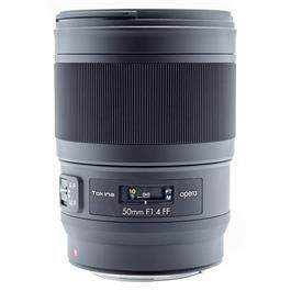 Tokina Opera 50mm F1.4 FF Lens -Canon/EF thumbnail