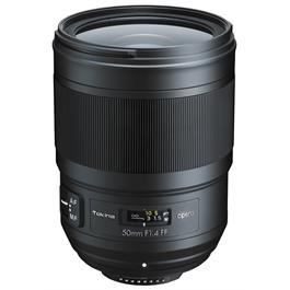 Tokina Opera 50mm F1.4 FF Lens -Nikon AF thumbnail