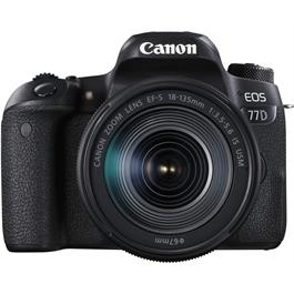 Canon EOS 77D + 18-135mm IS USM - Refurbished Thumbnail Image 0