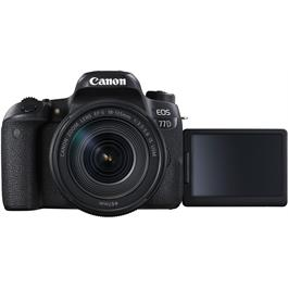 Canon EOS 77D + 18-135mm IS USM - Refurbished Thumbnail Image 4