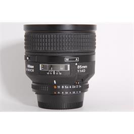 Used Nikon 85mm f1.4 AFD thumbnail
