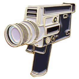 Official Exclusive Canon Super 8 8mm / 16mm Cine Camera Pin Badge thumbnail