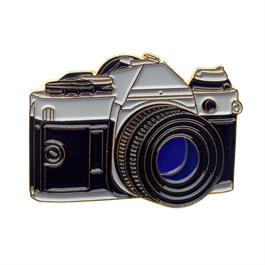 Official Exclusive Canon AE-1 SLR Camera Pin Badge thumbnail