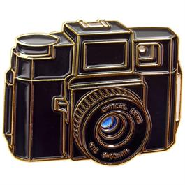 Official Exclusive Holga 120N Camera Pin Badge thumbnail