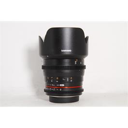 Used Samyang 50mm T1.5 AS UMC Canon thumbnail