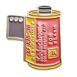 Official Exclusive Kodachrome Type F for Flash 35mm Film Cannister Pin Badge thumbnail