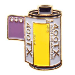 Official Exclusive Kodak Tri-X 400 35mm Film Cannister Pin Badge thumbnail