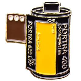 Official Exclusive Kodak Portra 400 35mm Film Cannister Pin Badge thumbnail