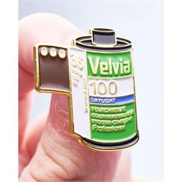 Pin Badge - Official Exclusive Fujifilm Velvia 50 35  thumbnail