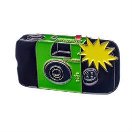 Official Exclusive Fujifilm Quicksnap Flash Single Use Disposible Camera Pin Bad thumbnail