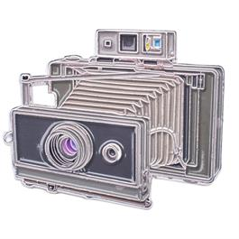 Official Exclusive Polaroid 100 Land Camera (Large Format) Pin Badge thumbnail