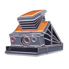 Official Exclusive Polaroid SX-70 Folding Camera Model I Pin Badge thumbnail