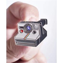 Official Exclusive Polaroid One-Step Rainbow SX-70 Instant Camera Pin Badge Thumbnail Image 1