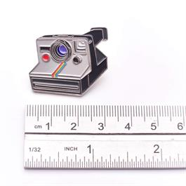 Official Exclusive Polaroid One-Step Rainbow SX-70 Instant Camera Pin Badge Thumbnail Image 2