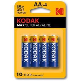 Kodak Max AA Batteries (4 Pack) thumbnail