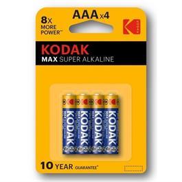 Kodak Max AAA Alkaline Batteries (4 Pack) thumbnail
