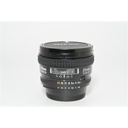 Used Nikon 20mm f/2.8 AF-D Lens Thumbnail Image 0