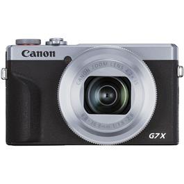 Canon PowerShot G7 X III Silver Compact Camera Dual Battery Kit Thumbnail Image 0