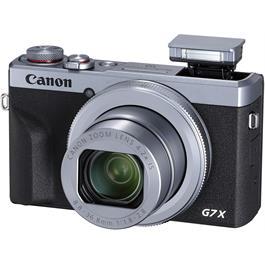 Canon PowerShot G7 X III Silver Compact Camera Dual Battery Kit Thumbnail Image 2