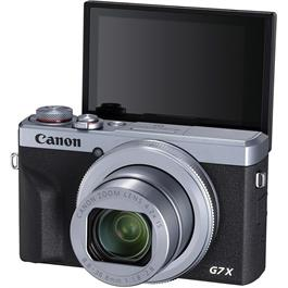 Canon PowerShot G7 X III Silver Compact Camera Dual Battery Kit Thumbnail Image 3