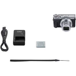 Canon PowerShot G7 X III Silver Compact Camera Dual Battery Kit Thumbnail Image 6