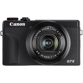 Canon PowerShot G7 X III Black Compact Camera Dual Battery Kit thumbnail