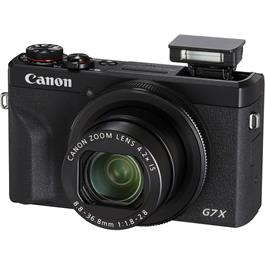 Canon PowerShot G7 X III Black Compact Camera Dual Battery Kit Thumbnail Image 2