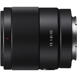 Sony FE 35mm f/1.8 Lens Front