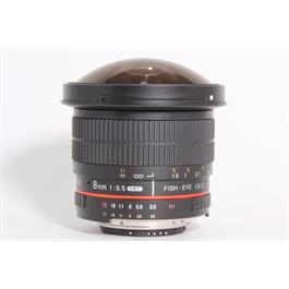 Used Samyang 8mm F/3.5 Fisheye (Nikon) thumbnail
