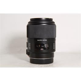 Used Sony 100mm F/2.8 Macro A Mount Thumbnail Image 0