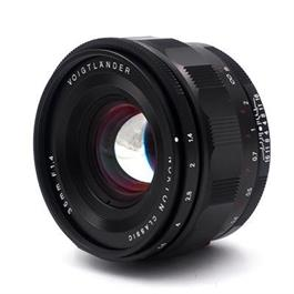 Voigtlander 35mm f1.4 Nokton Aspherical for Sony E-Mount Lens thumbnail