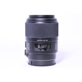 Used Sony 100mm F/2.8 Macro A Mount thumbnail