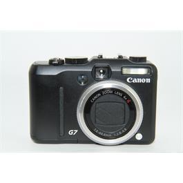 Used Canon Powershot G7 Compat Camera thumbnail