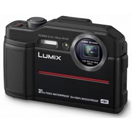 Panasonic FT7 Black waterproof camera - Ex Demo Thumbnail Image 1