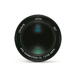 Leica APO-SUMMICRON-SL 50 f/2 ASPH Black Anodised