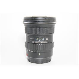 Used Tokina 11-16mm f2.8 ATX DX Pro Lens  thumbnail