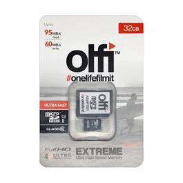 Olfi 32GB MicroSD Ultra Fast U3 95MB/s read, 90MB/s write thumbnail