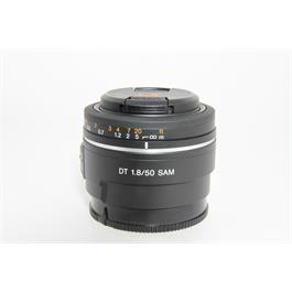 Sony Used DT 50mm f/1.8 SAM Lens  thumbnail