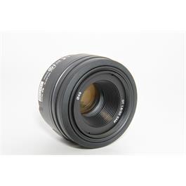 Sony Used DT 50mm f/1.8 SAM Lens  Thumbnail Image 1