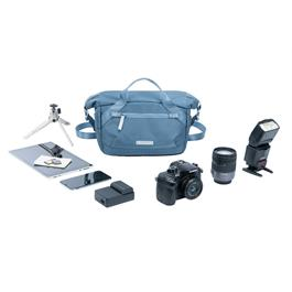 Vanguard VEO FLEX 25M Blue - Roll Top Shoulder Bag Thumbnail Image 8