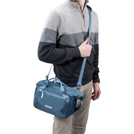 Vanguard VEO FLEX 25M Blue - Roll Top Shoulder Bag Thumbnail Image 9