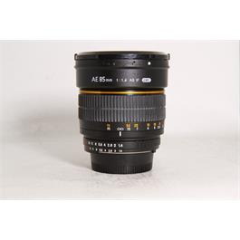 Used Samyang 85mm AF F/1.4 Nikon fit   thumbnail