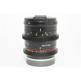 Used Samyang 50mm T1.3 CS UMC Lens - Sony E  thumbnail